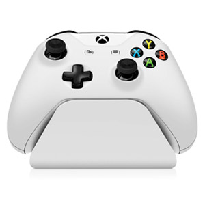 Controller Gear Xbox One Charging Stand - Robot White (Refurbished)