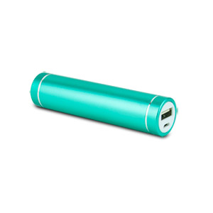 instaCHARGE 3,000mAh Portable Device and Phone Charger Turquoise