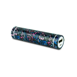 instaCHARGE 3,000mAh Portable Device and Phone Charger Paisley