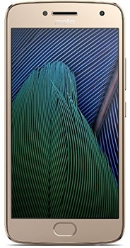 Motorola Moto G5 32GB 5 Unlocked Smartphone - Fine Gold, Like New