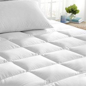 Cannon Waterproof Zippered HypoAllergenic Mattress Pad Topper & Protector Twin