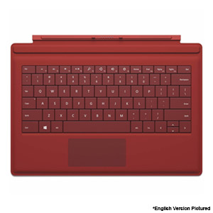 Microsoft Surface Pro 3 Type Cover - Red (French/Canadian) - Refurbished