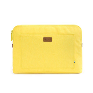 GOLLA Sirus Slim Open Zipper Pocket 12 Sleeve - Yellow