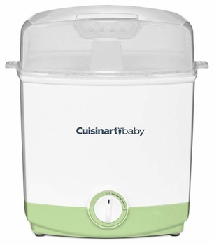 Cuisinart 6-Bottle Electric Baby Bottle Steam Sterilizer, Green