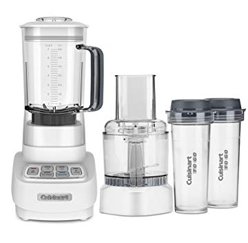 Cuisinart BFP-650 Velocity 1 HP 2in-1 Blender and Food Processor -  White