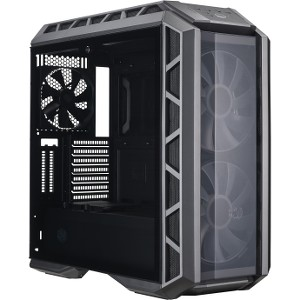 Cooler Master MasterCase H500P ATX Mid-Tower Case with Two 200mm RGB Fans, Refurbished