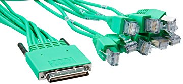 Cisco 10ft RS-232 Asynchronous Cable High Density 8-Port RJ45 CAB-HD8-ASYNC