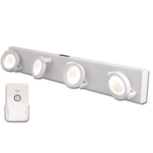 Rite Lite Wireless Remote Controlled LED Under Cabinet Light - LPL704WRC