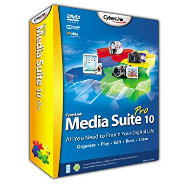 Cyberlink Media Suite 10 Pro (1 User)