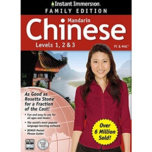 Instant Immersion Chinese Levels 1, 2 & 3 Family Edition