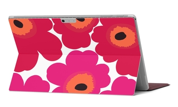 Marimekko Unikko Skin for Microsoft Surface Pro and Surface Pro 4