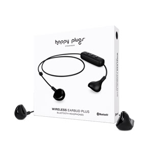 Happy Plugs Wireless Earbud Plus - Black
