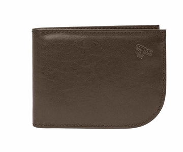 Travelon Leather Hack-Proof RFID Cash & Card Sleeve and Wallet