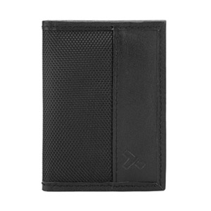 Travelon Hack-Proof RFID Bifold Slim Wallet, Black