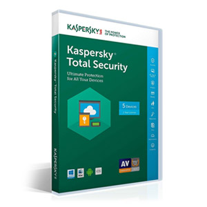 Kaspersky Total Security for 5 Devices, 1 Year  [Key Code for Latest Edition]