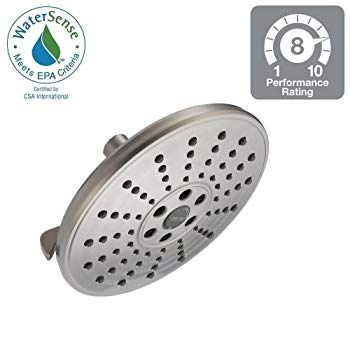 Delta 75356SN H2Okinectic 8 Showerhead - Brushed Nickel