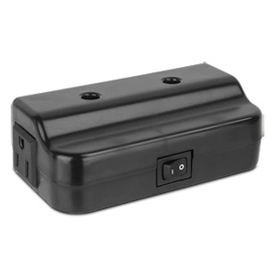 Westek FA505LB Direct Wire Convenience Box - Black
