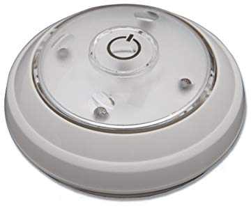 HamptonBayLED Directional Puck Light - White