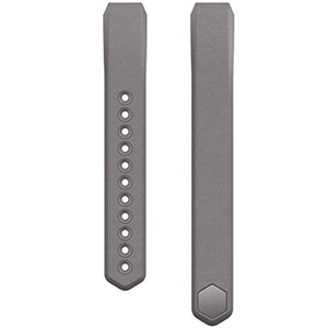 Fitbit Alta Leather Accessory Band - Graphite (Large)