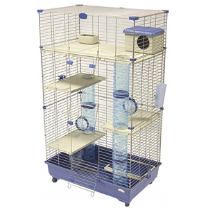 Marchioro Tommy 82 C3 Three Tier Animal Cage - Blue