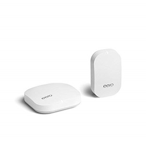 eero Home WiFi System (1 eero + 1 eero Beacon)  Advanced Tri-Band Mesh