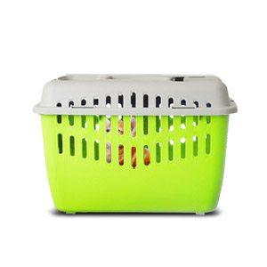 Marchioro Binny Basic Top Pet Carrier - Lime/White