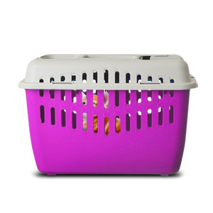 Marchioro Binny 2 Basic Top Pet Carrier - Pink/White