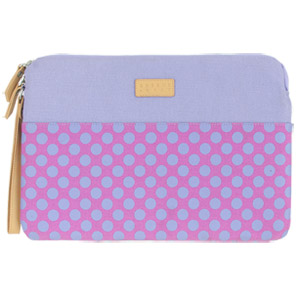 Greene + Gray 11 Surface Sleeve (Violet Polka Dot)