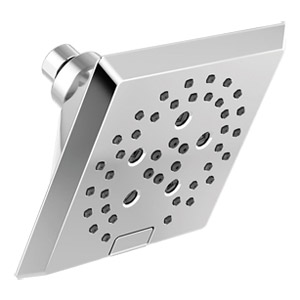 Delta H2Okinetic 5-Setting Raincan Shower Head - Chrome