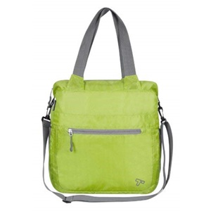 Travelon Lightweight Folding Crossbody Tote - Lime