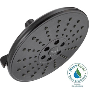 Delta 75356RB H2Okinectic 8 2GPM Showerhead with Pause Feature Venetian Bronze