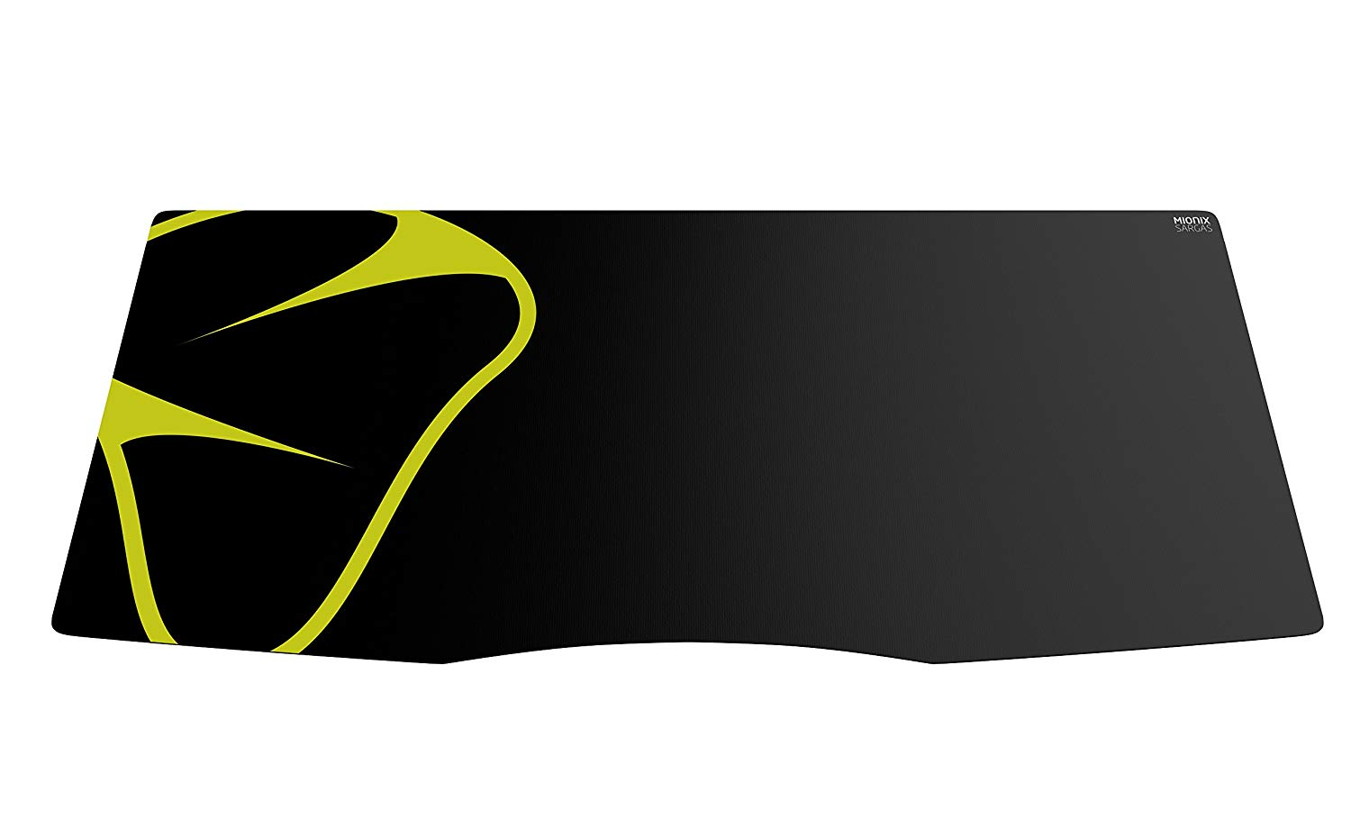 Mionix Sargas Softmat Mouse Pad, X-Large (35.4 x 15.7) - Black