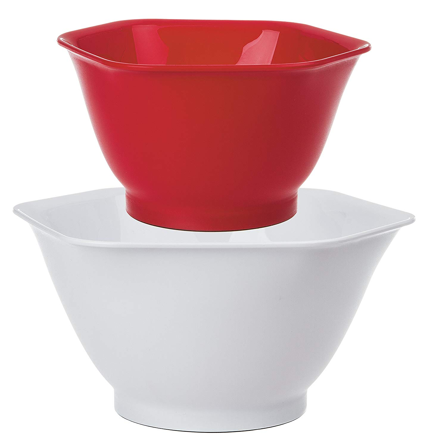 Prep Solutions by Progressive Hexi Mix 'N Pour Bowls - Set of 2