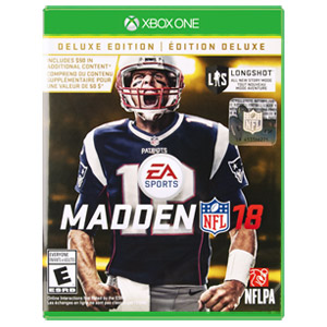 Madden NFL 18: Deluxe Edition - Xbox One