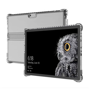 Incipio Octane Pure Rugged Case for Microsoft Surface Pro Clear Impact, Open Box