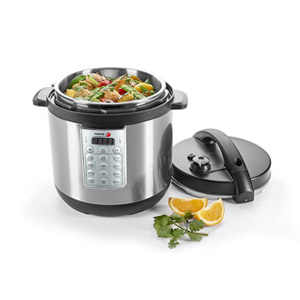 Fagor Select 8-Quart 8-in-1 Electric Pressure Cooker Rice Cooker MultiCooker