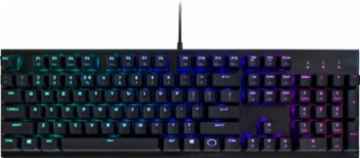 Cooler Master CK552 Wired Gaming Mechanical Gateron Red Switch Keyboard - Refurbished
