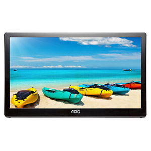 AOC I1659FWUX 15.6 FullHD 1920 x 1080 USB 3.0 Powered Portable Monitor Refurb