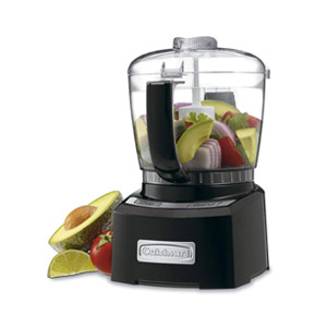 Cuisinart CH-4BK Elite Collection 4-Cup Chopper Grinder Black Refurbished
