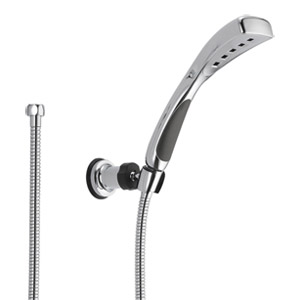 Delta Faucet 55411 H2Okinetic Adjustable Wall-Mount Hand Shower Chrome