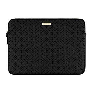 Kate Spade Saffianao Sleve Surface Book Perorated Black