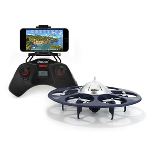 UDI U845 Voyager WiFi FPV UFO HexaCopter RC Drone with Real-time 720P HD Camera