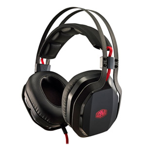 Cooler Master Pulse MH-750 Over-Ear Headset with Mic, Virtual 7.1 Channel Surround Sound with Exclusive Bass FX Technology - Ope