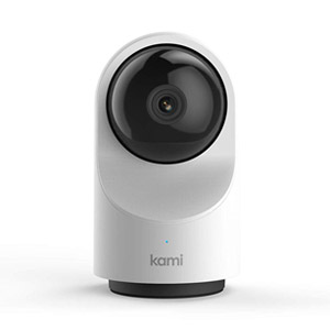 Kami Home Security Camera System 1080p HD Indoor Smart Surveillance Cam