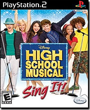 Disney High School Musical Sing It (Playstation 2)