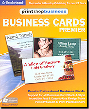 PrintShop Business Premier - Business Cards