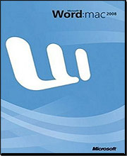Microsoft Word for Mac 2008 (Upgrade)