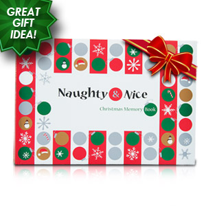 Naughty & Nice Christmas Memory Book