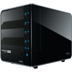 Promise SmartStor 4-Drive NAS Server w/ Ethernet Connectivity, Refurbished